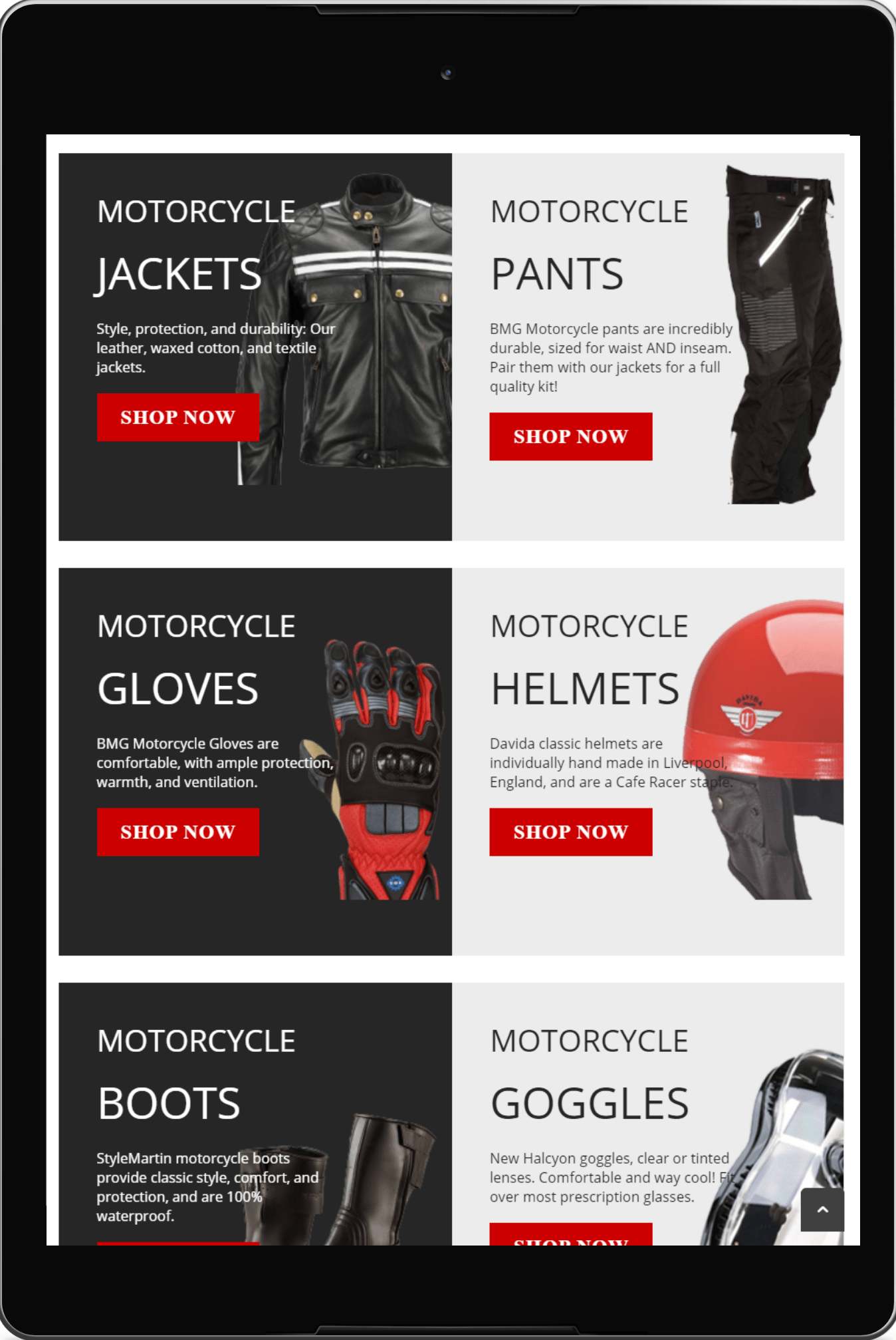 Case Study of British Motorcycle Gear with 15% increase leads with Magento 2 upgradation